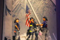 COURTESY PHOTO Belvidere Republican This iconic photo of Firefighters raising the American flag at Ground Zero has come to honor all Firefighters and First Responders who risk their lives to help others.
