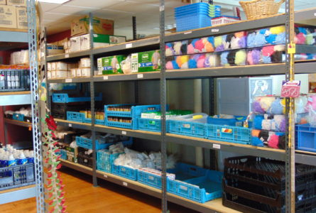 The Belvidere-Boone County Food Pantry in Capron opened their doors on Thursday, Sept. 13 so interested people could view their newly expanded and organized facilities and to highlight Hunger Action Month.