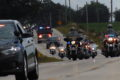 ANNE EICKSTADT PHOTO Belvidere Republican Law enforcement and fire departments from around the area and beyond escorted the motorcycles on their Ride to Remember and do honor to those who gave their lives on 9/11.