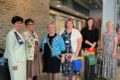 COURTESY PHOTO Belvidere Republican 	Regent Kathy Hughes, Registrar Darlene Schoepski, State Regent Gloria Flathom, new members Kathy Kult and Natalie Hammer, and Chaplain Marsha Hosfeld are welcomed.