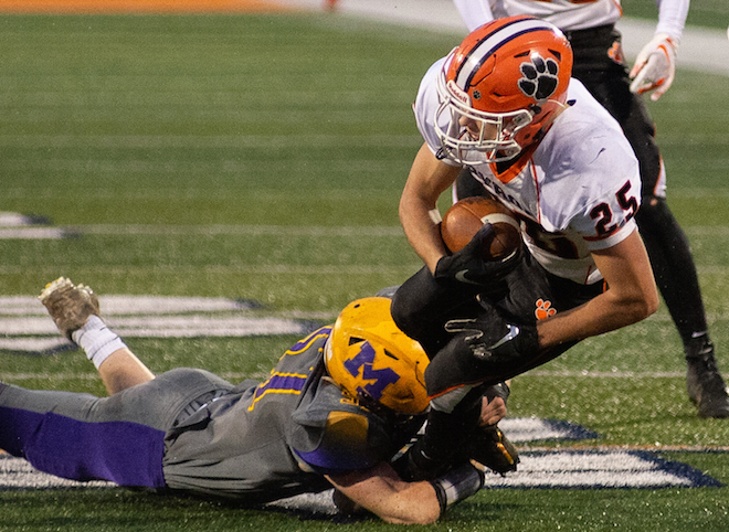Time runs out on Tigers in 3A championship game