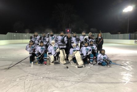 SUBMITTED PHOTOS Belvidere Republican The Fury Ice Hockey Team with their head coach David Wandell.