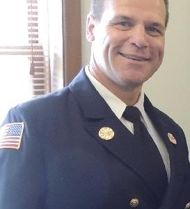COURTESY PHOTO Belvidere Republican The generous people of Boone County and Belvidere took Chief Al Hyser straight to the top of the Real Men Wear Pink Winnebago/Boone County fundraising competition in 2018.