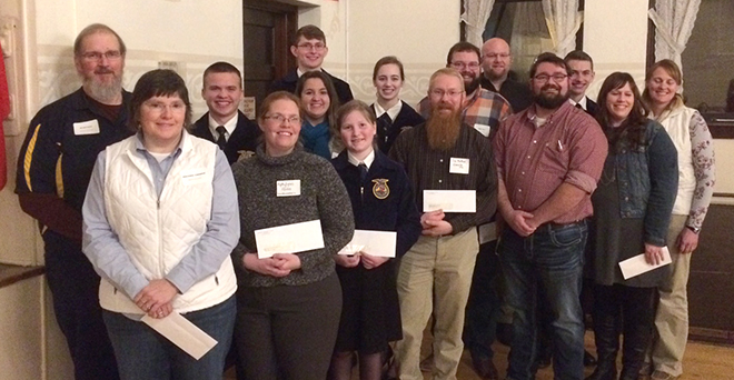 Cheesemakers association donates to area FFA clubs