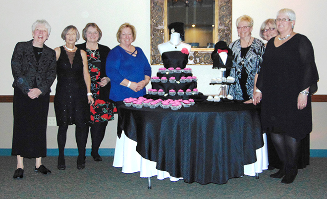 Nations Veterans at heart of American Legion 332 Ladies Auxiliary Little Black Dress party