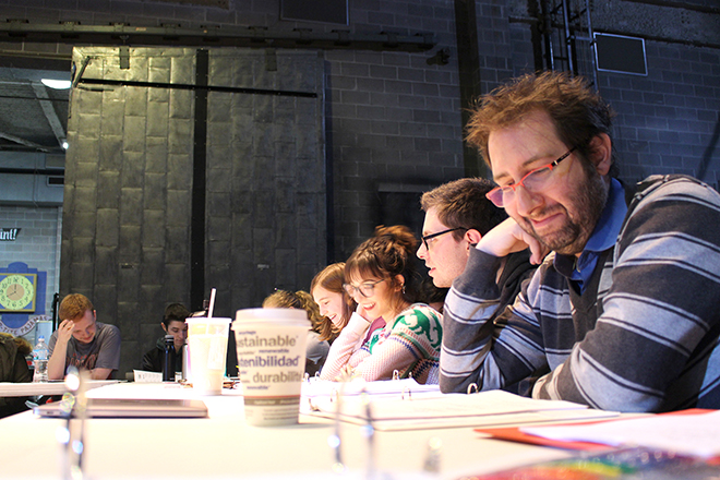"""Carner and Gregor's """"Techies"""" opens Feb. 21 in Maddox Theatre"""