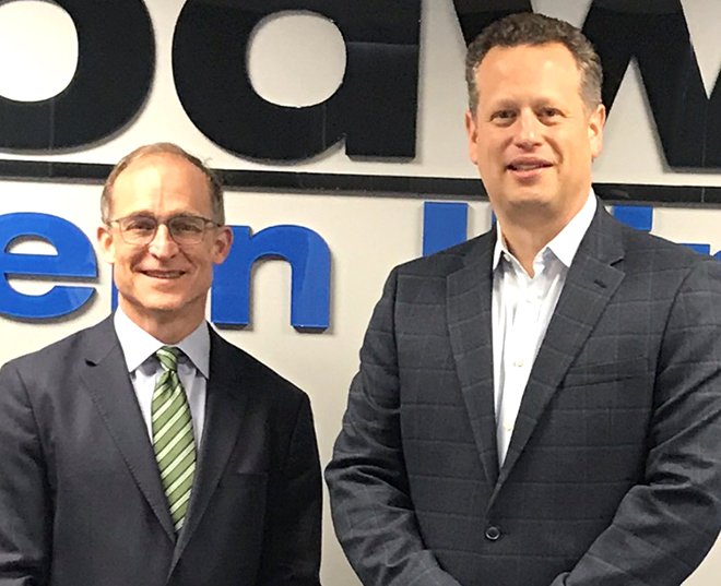 Goodwill Industries International's new president, CEO visits Goodwill Northern Illinois