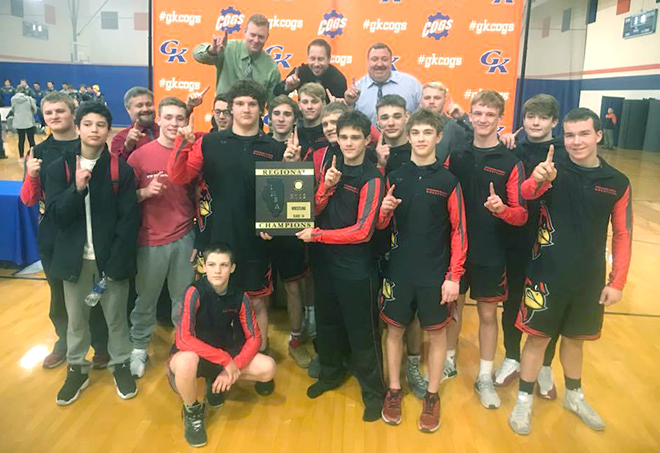 SVHS Wrestle Regional Champs