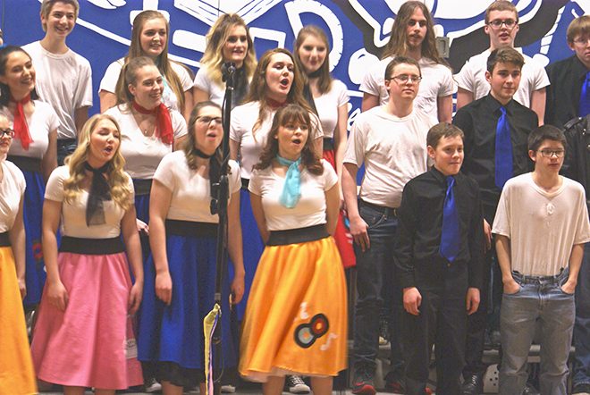 Durand students prepare for 'Disney Spectacular'