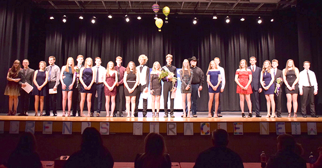 Pecatonica Key Club holds a very successful Mr. PHS Pageant