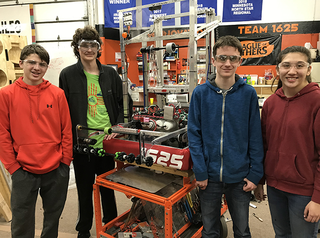 Winnovation Team 1625 Heads West To Compete
