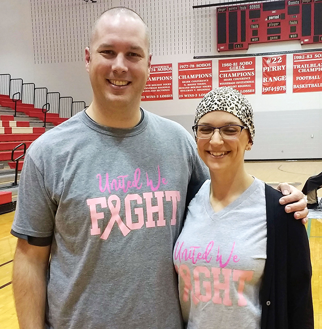 South Beloit teachers 'Brave the Shave' to help fellow faculty member fight cancer