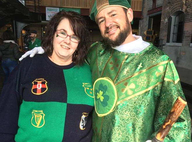 Paddy Fest In Downtown Rockford