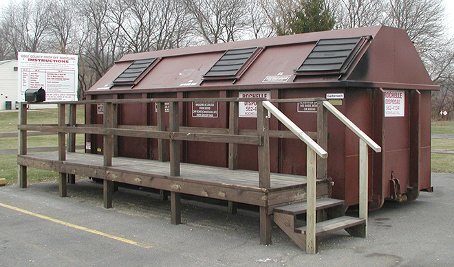 County Drop-Off Recycling Program to end