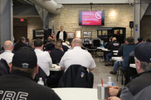 Fire Behavior, Smoke, and new Construction class educates area fire commanders