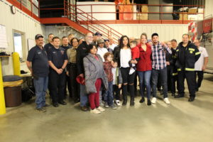 Accident victim thanks her first responders a year later