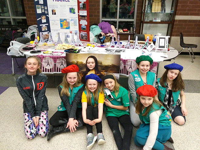 Local Girl Scouts Take Part in World Thinking Day
