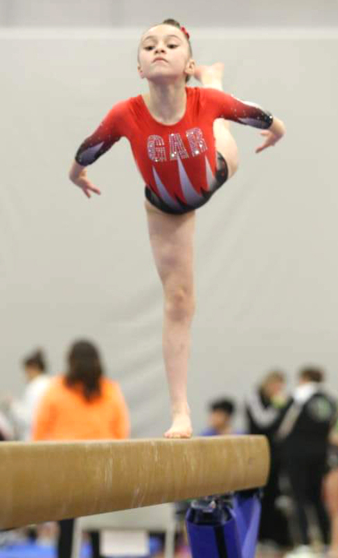 Roscoe Gymnast Wins Illinois State Championship