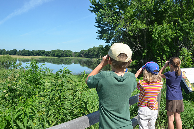 Grant supports free family fun at Family Nature Day