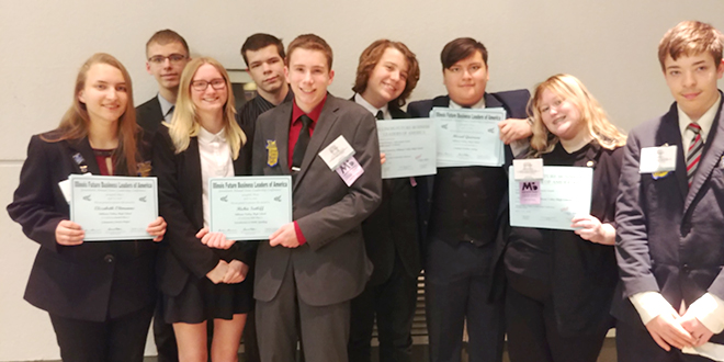 Stillman Valley FBLA attends Illinois State Conference