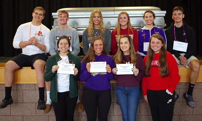 """Pecatonica H.S. Hosted a """"Distracted Driver"""" Presentation at a Pre-Prom Assembly"""