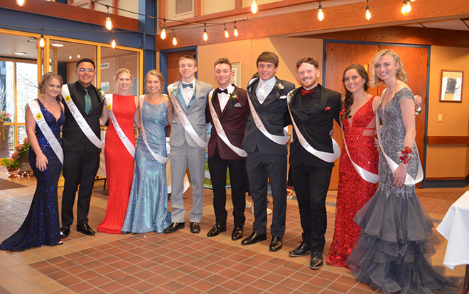 Winnebago High School Prom Court