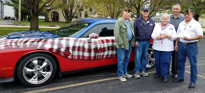 Rockton American Legion Post 332 Donates to Vets Roll
