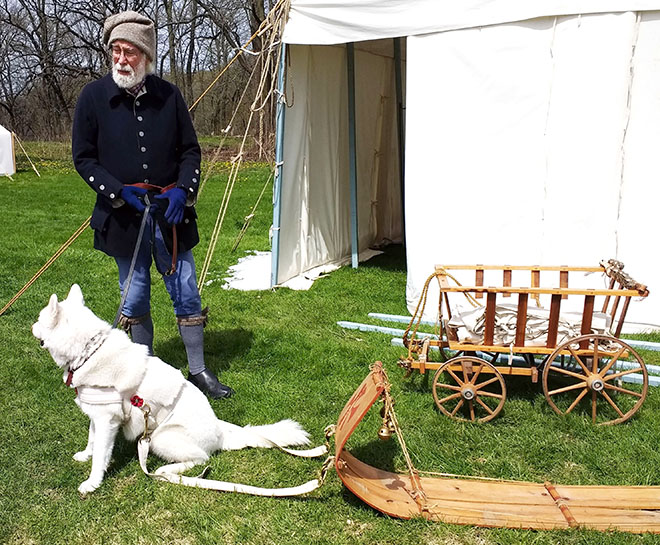 The Gathering Draws Visitors to Macktown Despite the Snowy Weekend