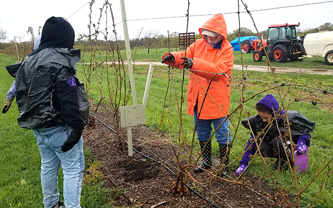Rockford Lutheran H.S. Students Provide Community Service