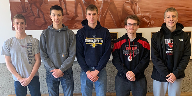 Stillman Valley H.S. Ag Mechanic Team qualifies for State