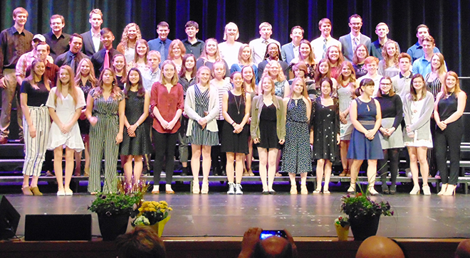 Students Honored for Achievements at HHS