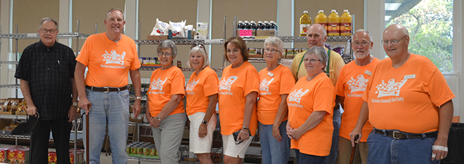 The Pecatonica Community Food Pantry opened up for an Open House