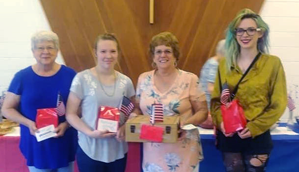 Prince of Peace Lutheran Church raises $1,400 to continue support of Operation Ward 57 Families