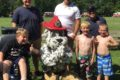 COURTESY PHOTO Belvidere Republican 	BFD Firefighters take Sparky to MDA Camp to visit with the kids.