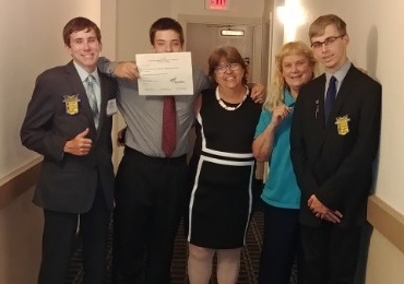 Stillman Valley's FBLA officers attend State Leadership Conference