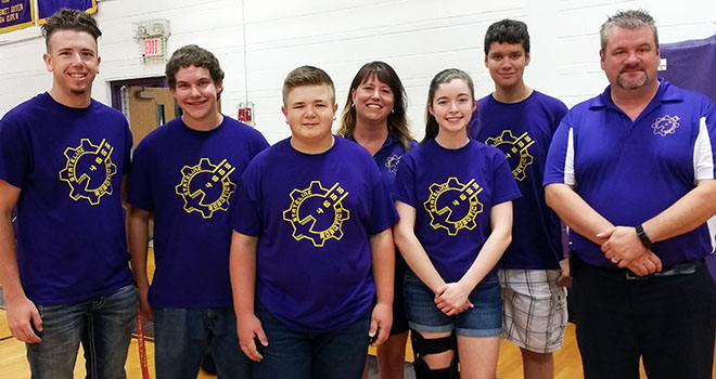 Robotics Team helps bring gift of mobility to local disabled boy