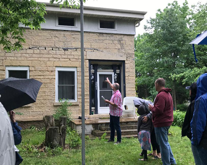 Greek revival, other architectural styles featured on fourth historical walking tour