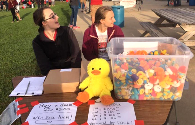 FBLA to host second annual Ducky Drop