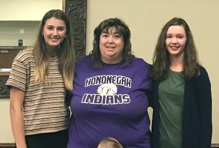 Hononegah High School students share Girls State experience