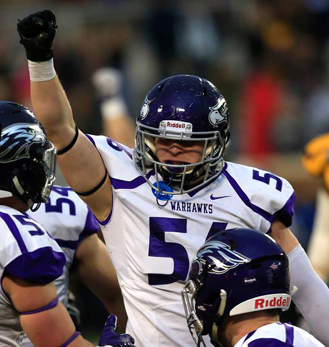Rockford's Anderson named semifinalist for NFF Campbell Trophy