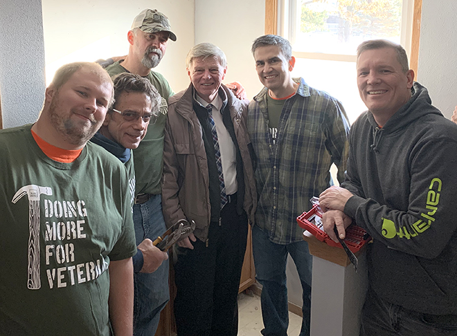 Home Depot helps disabled veterans improve housing