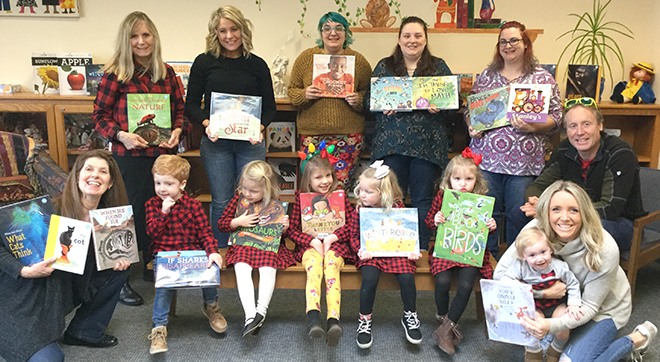 Talcott Library carries on tradition of Adopting a Book
