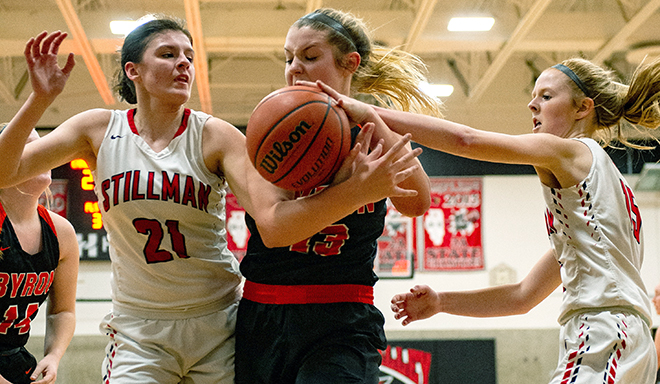 Lady Cardinals capture cross-conference claim