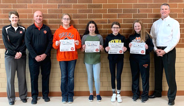 BMS students of the Month