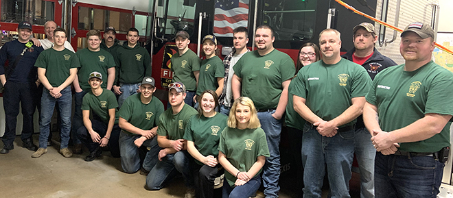 Boone County has active Explorer programs for youth