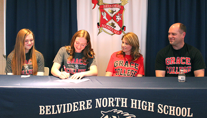 Hulstedt signs with Grace College in Indiana