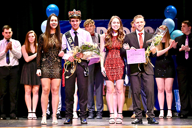 Pecatonica High School Key Club hosts another successful Mr. PHS Pageant