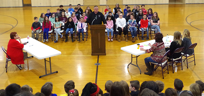 Pec Middle School students compete in Spelling Bee