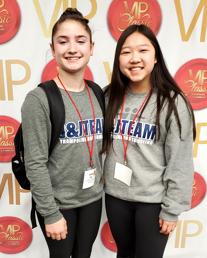 J&J athletes compete at VIP Classic
