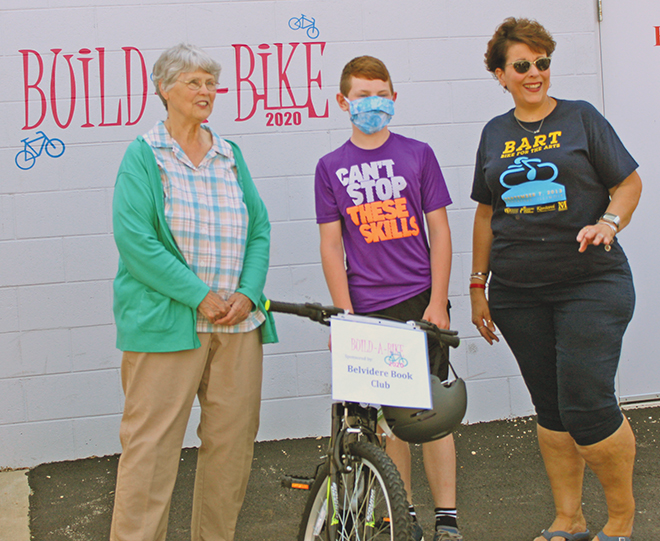 Build-A-Bike is a drive-by event this year